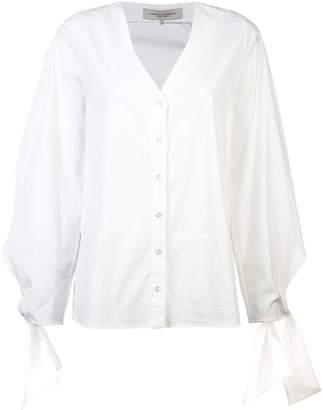 Carolina Herrera tie-cuff blouse