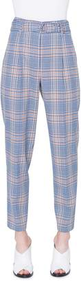 Akris Punto Fred Bicolor Plaid Pants