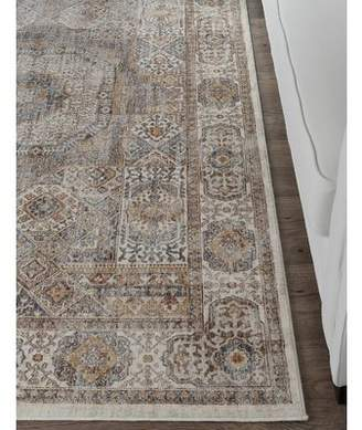 Three Posts Matteson Traditional Beige Area Rug