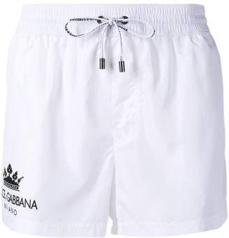 Dolce & Gabbana logo swim shorts