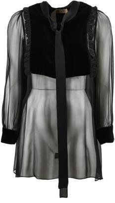 N°21 N.21 Black Silk Blouse.