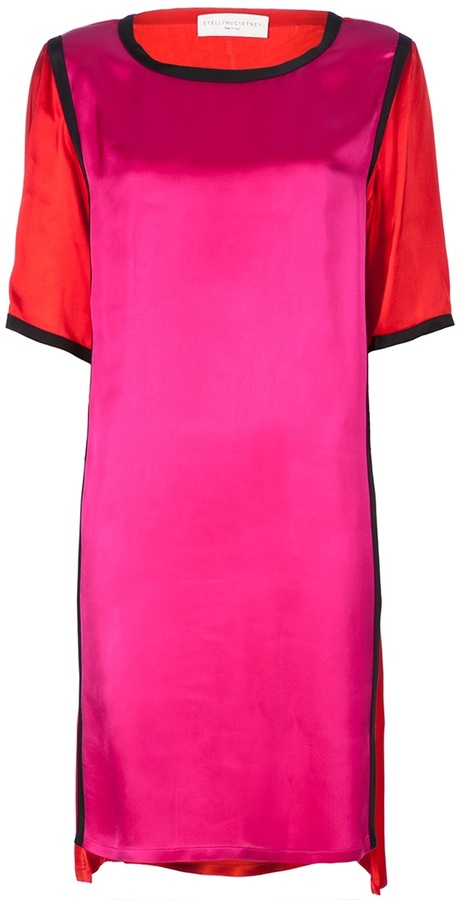 Stella Mccartney colour block dress