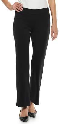 Croft & Barrow Women's Easy Care Pull-On Ponte Pants