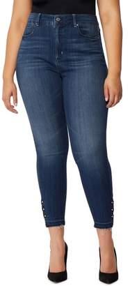 Wilson Rebel X Angels Rebel The Vamp Crop High Waist Skinny Jeans
