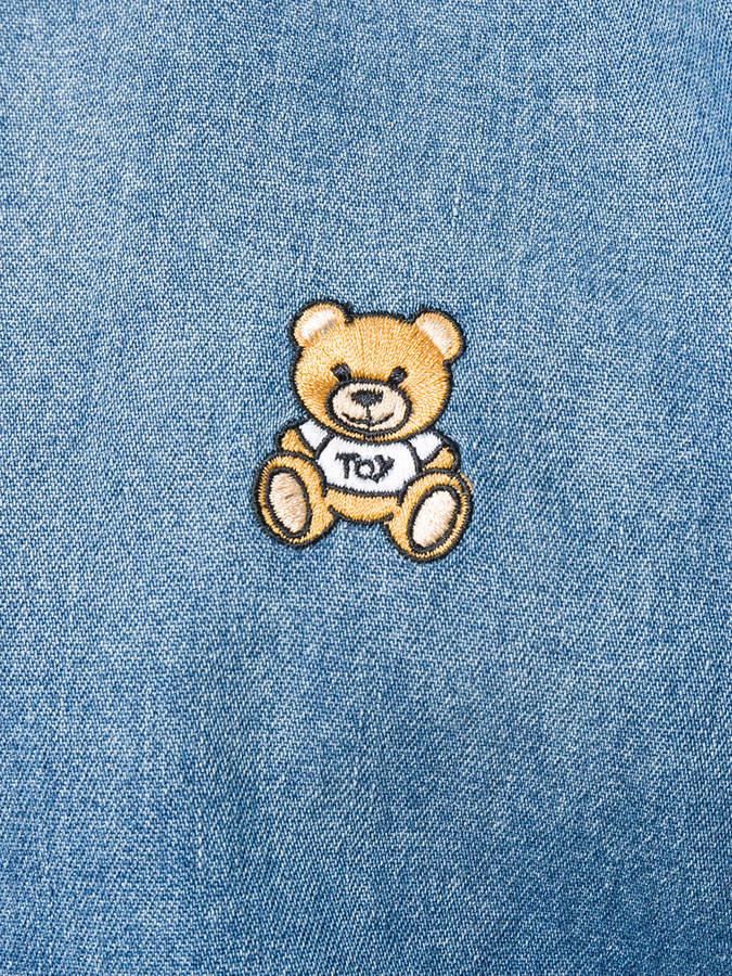Moschino teddy bear logo shirt