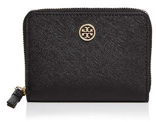 Tory Burch Robinson Leather Zip Coin Case
