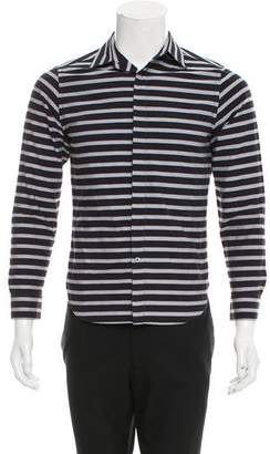 Todd Snyder Striped Button-Up Shirt