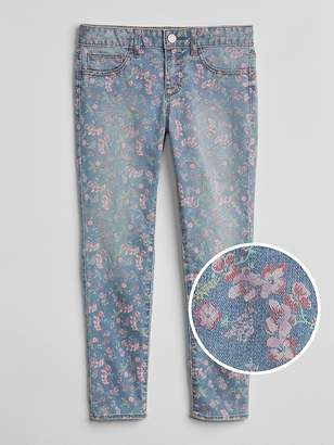 Gap Wearlight Favorite Jeggings in Floral Print