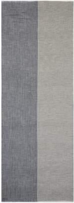 Janavi Colourblock Merino wool scarf