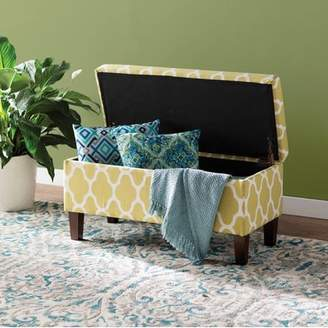 Latitude Run Clare Tokatli Upholstered Storage Bench
