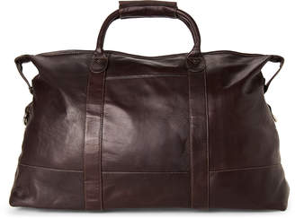 Latico Leathers Brown Leather Carriage Duffel