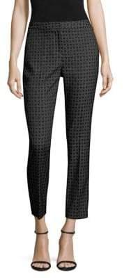 Kobi Halperin Alexandra Geometric-Print Trousers