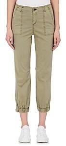 Barneys New York WOMEN'S STRETCH-COTTON CARGO PANTS