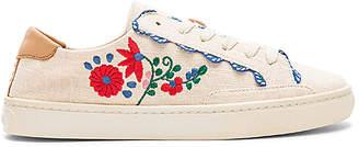Soludos Ibiza Embroidered Sneaker