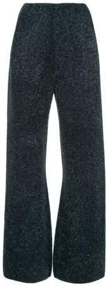 Sonia Rykiel glitter detail trousers