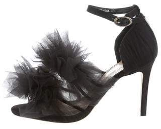 Isa Tapia Gigi Tulle Pumps w/ Tags