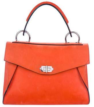 Proenza Schouler Nubuck Medium Hava Top Handle Bag