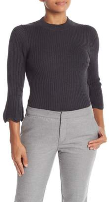 Michael Stars Ribbed Pullover Sweater