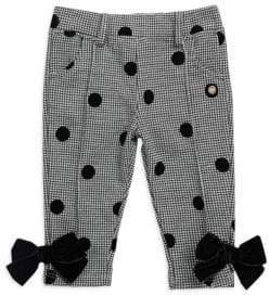 Lili Gaufrette Baby Girl's & Little Girl's Bow Pants