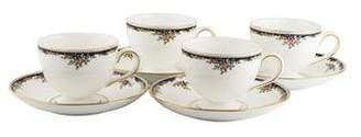 Wedgwood Set of 8 Osborne Teacups & Saucers