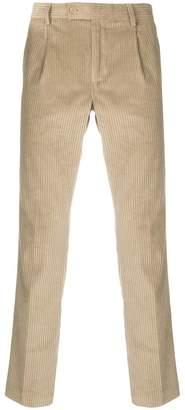 Daniele Alessandrini corduroy straight trousers