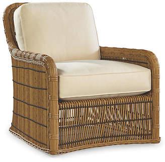 Lane Venture Rafter Lounge Chair - Canvas Sunbrella
