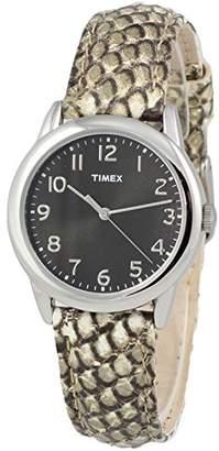 Timex Women's TWH2Z8510 Leather Strap Watch