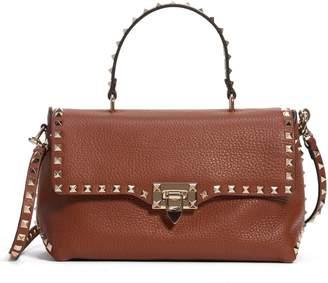 Valentino Medium Rockstud Leather Crossbody Bag