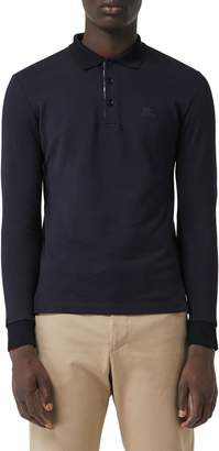 Burberry Hartford Long Sleeve Polo