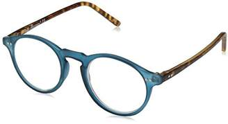 A. J. Morgan A.J. Morgan Unisex-Adult Rowhouse - Power 3.00 54233 Round Reading Glasses