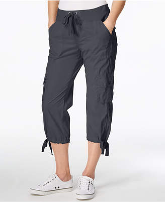 Calvin Klein Poplin Capri Cargo Pants