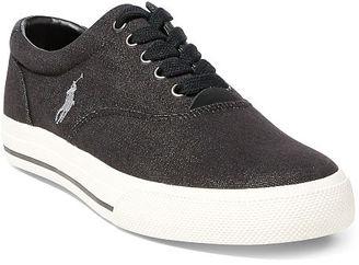 Polo Ralph Lauren Vaughn Denim Sneaker $65 thestylecure.com