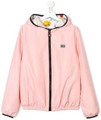Fendi TEEN hooded jacket