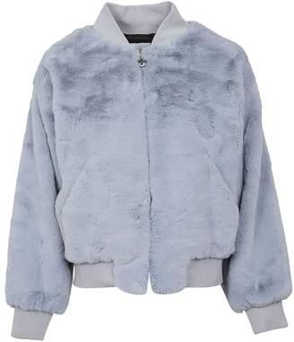 Chiara Ferragni Fur Bomber Jacket