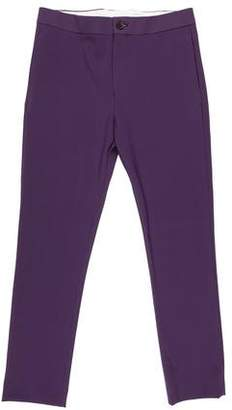 Acne Studios Brady Jersey Slim Fit Pants