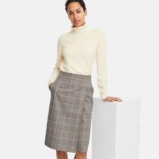 Uniqlo Women's Checked Narrow Skirt