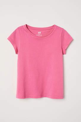 H&M Jersey Top - Pink