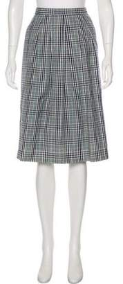 Pendleton Plaid Knee-Length Skirt