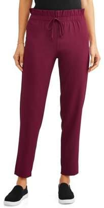 SHIRA PEARLA Women's Paper Bag Waist Trousers