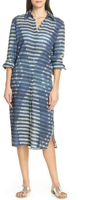 Lenny Niemeyer Rustic Cover-Up Shirtdress