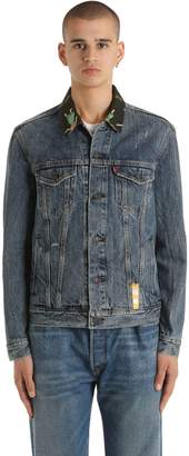Levi's Hawaiian Collar Cotton Denim Jacket