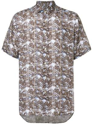 Corneliani printed shirt