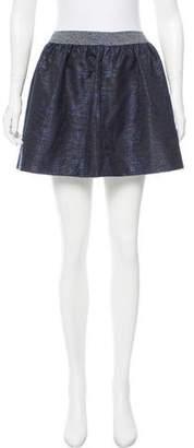 Jonathan Simkhai Printed Mini Skirt