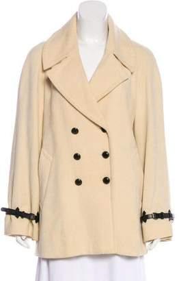 Barbara Bui Buckle-Accented Short Coat