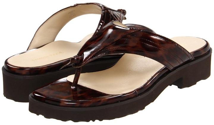 Taryn Rose Trinity (Brown Multi Leopard Print) - Footwear
