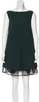 Maison Margiela Sleeveless Pleated Dress