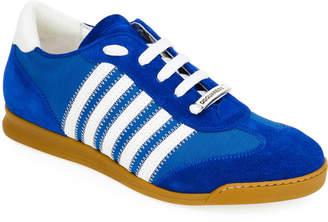 DSQUARED2 Men's Canvas & Suede Sneaker