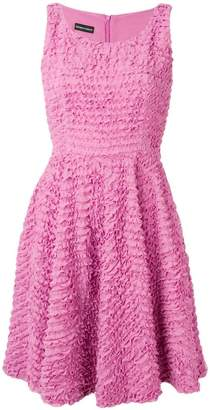 Emporio Armani ruffle A-line dress