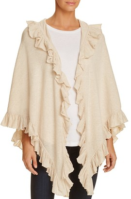 Minnie Rose Ruffle Shawl $143 thestylecure.com