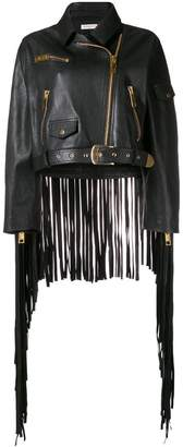 Natasha Zinko oversized fringed jacket